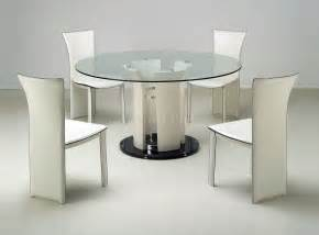 Contemporary Glass Dining Table Sets Clear Glass Top Modern Dining Table W Optional Chairs