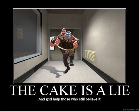 The Cake Is A Lie Meme - a happy birthday topic page 2 general spiderweb
