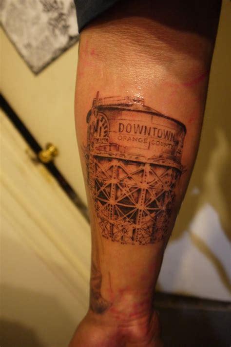 oc tattoo downtown orange county water tower tattoos