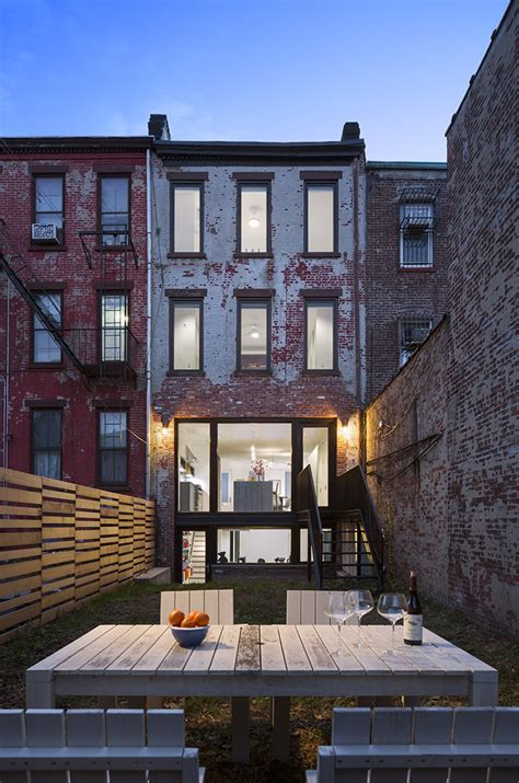 home design firm brooklyn tiny new york city backyards by allie weiss dwell
