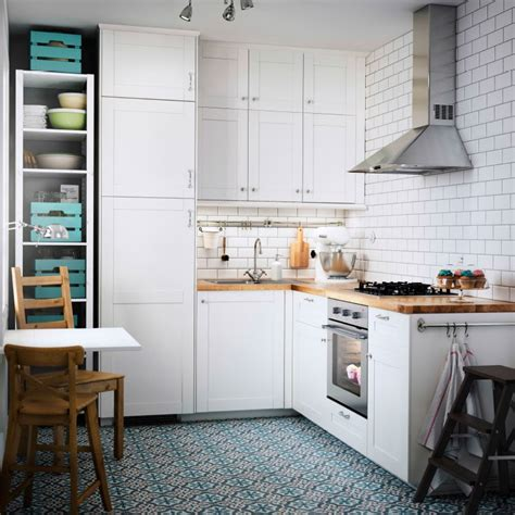 small ikea kitchen ideas die kleine aber feine landhausk 252 che ikea