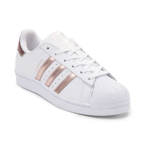 Adidas Superstars womens adidas superstar athletic shoe white 436251