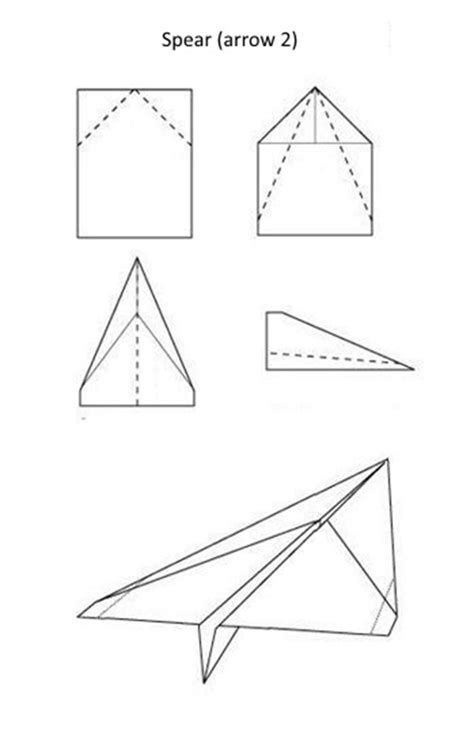 Simple Paper Airplanes - models of paper airplanes selection diy is