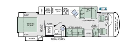 thor hauler floor plans thor class a motorhomes rv models specifications