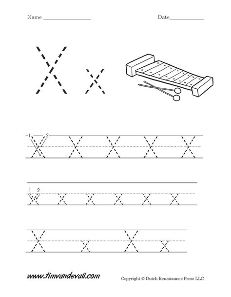 letter x worksheet tim s printables