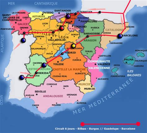 banche spagna espagne barcelone carte l odyssee des photos voyages