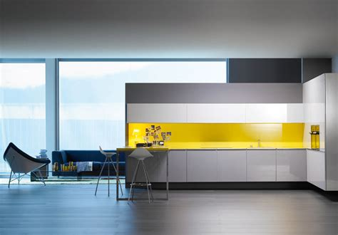 kitchen splashback designs modern yellow kitchen splashback newhouseofart com