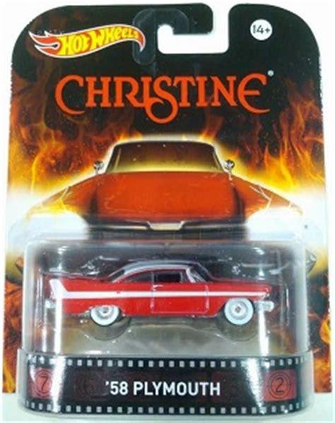 Wheels Hotwheels Retro Seri Christine 58 Plymouth retro entertainment 2015 wheels