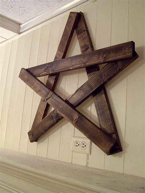 Pallet Wood Star Plans