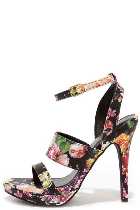 High Heels Giardino Grdn 109 floral print heels high heel sandals 23 00