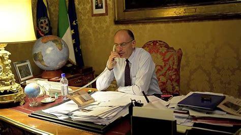 letta presidente consiglio intervista telefonica della al presidente