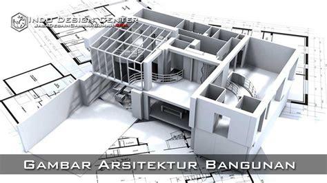gambar arsitektur bangunan jasa desain gambar rumah