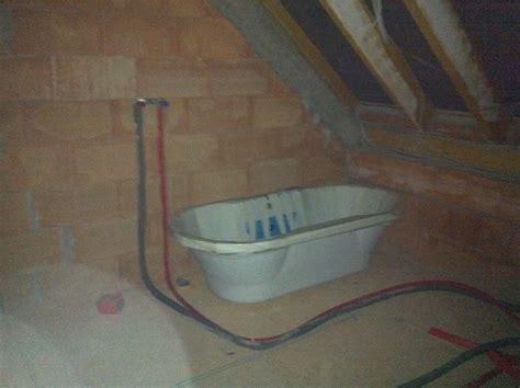 wasseranschluss badewanne rohinstallation sanit 228 r knx hausblog de
