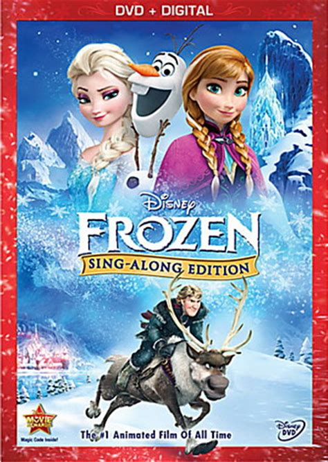 film frozen holiday frozen sing along dvd coming this winter update