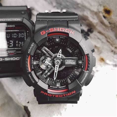 Casio G Shock Ga110 Hr g shock ga 110hr 1a dw 5600hr 1a ga 400hr 1a black and