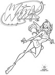 dibujos colorear winx