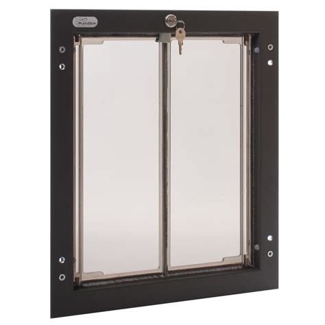 Large Pet Door plexidor large door wall unit satin ebay