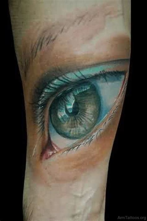 eye tattoo gallery 57 expensive eye tattoos on arm