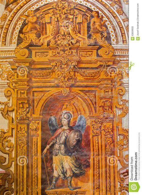 fresco baroque granada the baroque fresco of with the staff and