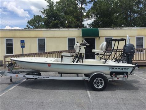flats boats for sale crystal river 2009 used ranger banshee extreme flats fishing boat for