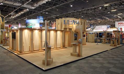 world travel market exhibition stand design  build