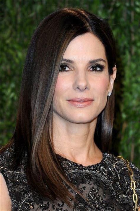 actresses with shoulder length blunt cuts sandra bullock and beautifully healthy blunt cut shoulder