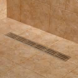 linear bathroom drain siewart linear shower drain bathroom