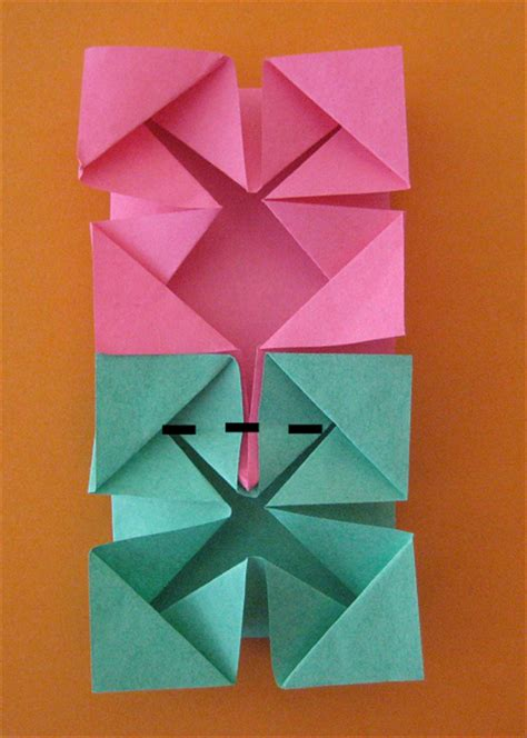 simple crafts origami photo frame and photo cube