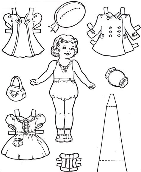paper doll template female www imgkid com the image