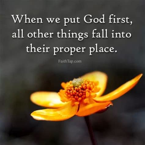 putting god first place in your life a mistake you don t put god first quotes quotesgram