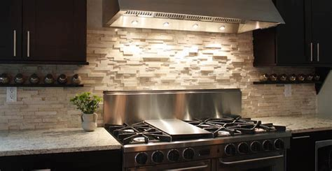 kitchens with stone backsplash mission stone tile announces 2013 trends in kitchen