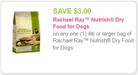 Printable Rachael Ray Dog Food Coupons | new 3 rachael ray nutrish coupon for kroger sale