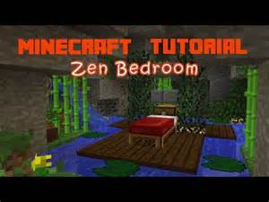 how to make bedroom in minecraft minecraft how to make a zen bedroom youtube