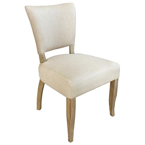Nailhead Dining Chairs Loire Country Light Beige Linen Oak Nailhead Dining Chair Set Of 2