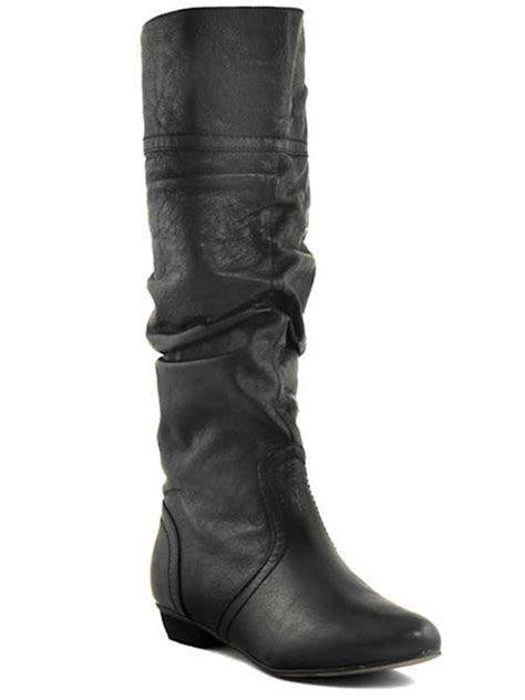 new steve madden candence knee high leather flat