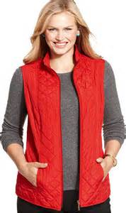 Plus Size Quilted Vest by Vest Charter Club Plus Size Reversible Quilted Vest Where To Buy How To Wear