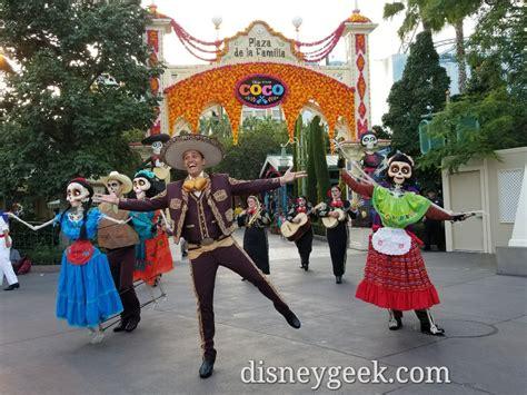 coco adventure a musical celebration of coco at disney california