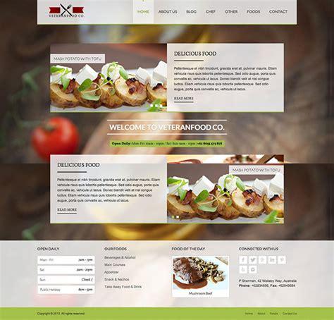 25 Best Html Website Templates For Cafe Bar Restaurant Cafe Website Template