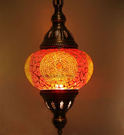 Turkish Lighting Fixtures Orange Colorfull Mosaic Turkish Pendant L 12cm Mediterranean Pendant Lighting Other