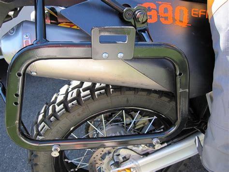 Diy Luggage Rack Motorcycle by Caribou Diy Side Mount Kit For Sw Motech Evo Side