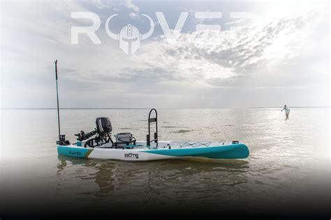 skiff paddle board bote rover paddleskiff microskiff gatorshell powered by