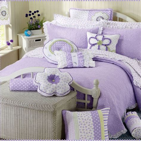 girls bedding purple girls quilt bedding sets girls bedding