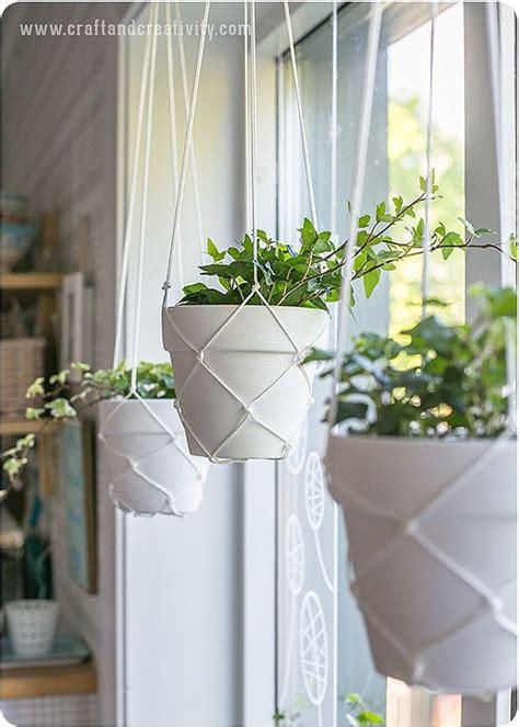 hanging plant diy 17 best ideas about diy hanging planter on pinterest