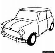 1963 Austin Mini Cooper S Coloring Page