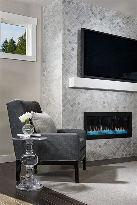 floor  ceiling tile fireplace surround   lincoln