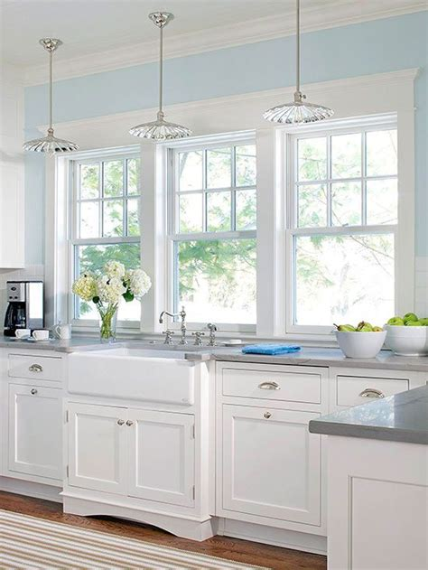 white and blue kitchen decor best 25 light blue kitchens ideas on city