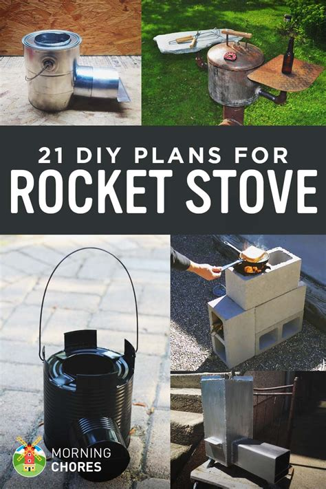 Efficient Small Home Plans by 21 Free Diy Rocket Stove Plans For Cooking Efficiently