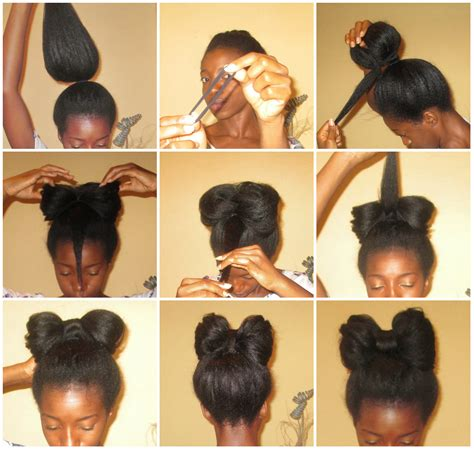 is putting hair in a bun a new fad how to make a hair bun bow www pixshark com images
