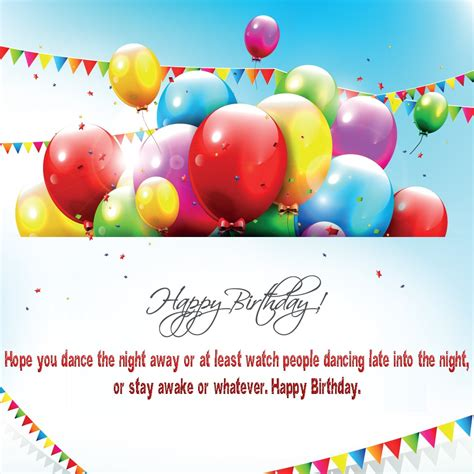 Free Birthday Quotes For Free Greeting Card Happy Birthday Balloon Quot 10999