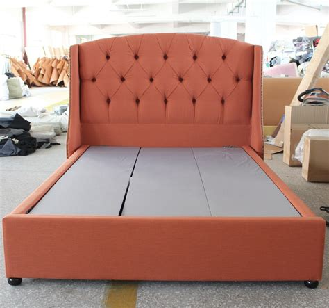 Bed Frame With Soft Headboard by The Most Promotional Soft Fabric Bed Headboard Of European